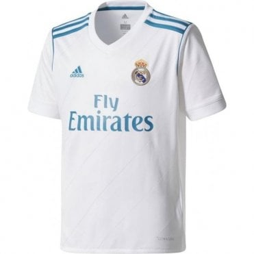 Kids Real Madrid Home Jersey 17/18