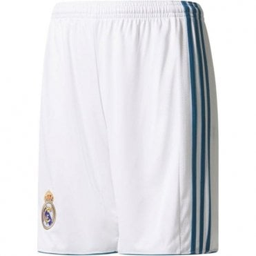 Kids Real Madrid Home Shorts 17/18