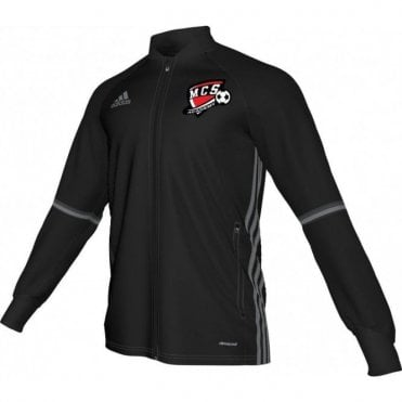 Maiden City Kids Condivo 16 Training Jacket Black/Vista Grey