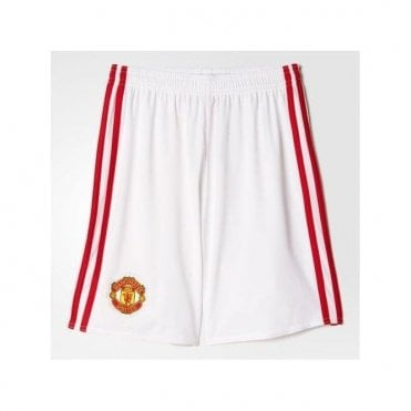 MANCHESTER UINITED FC HOME JNR SHORTS