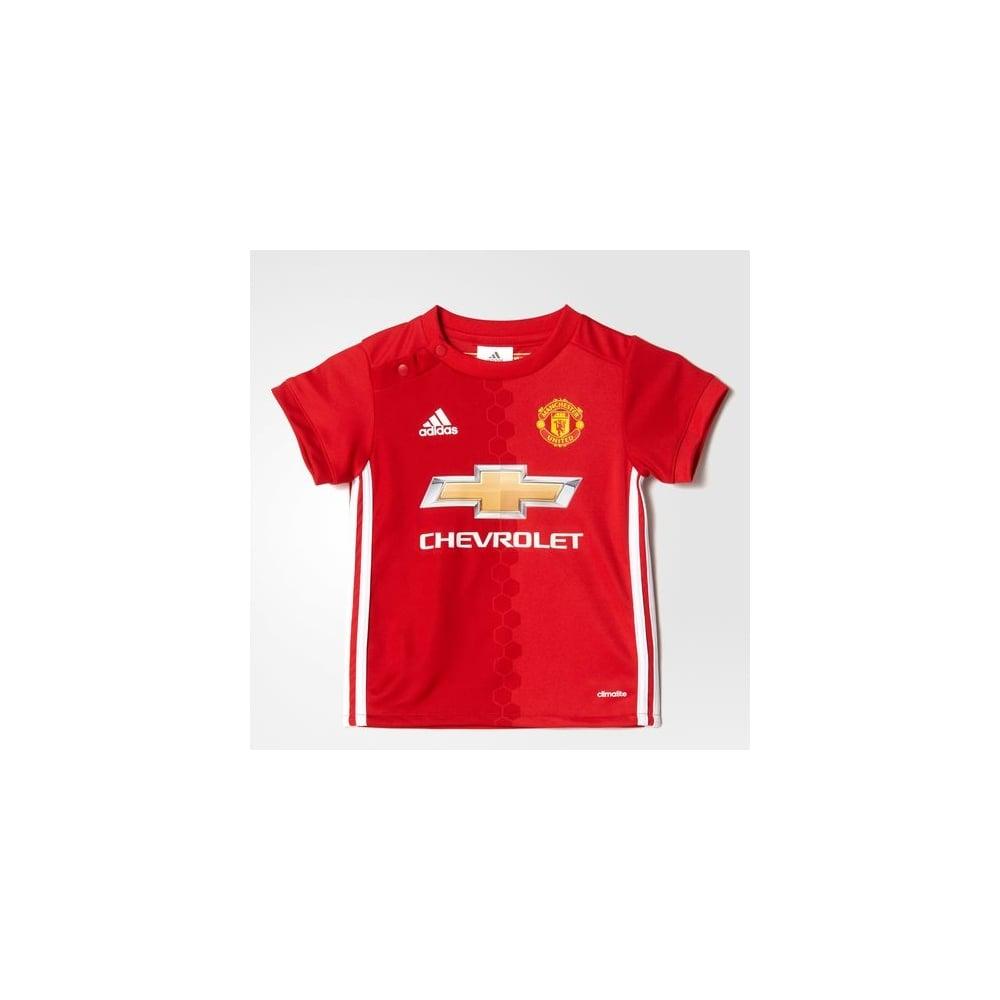 quality design 1a1cb 4bbc1 MANCHESTER UNITED FC HOME INFANT KIT
