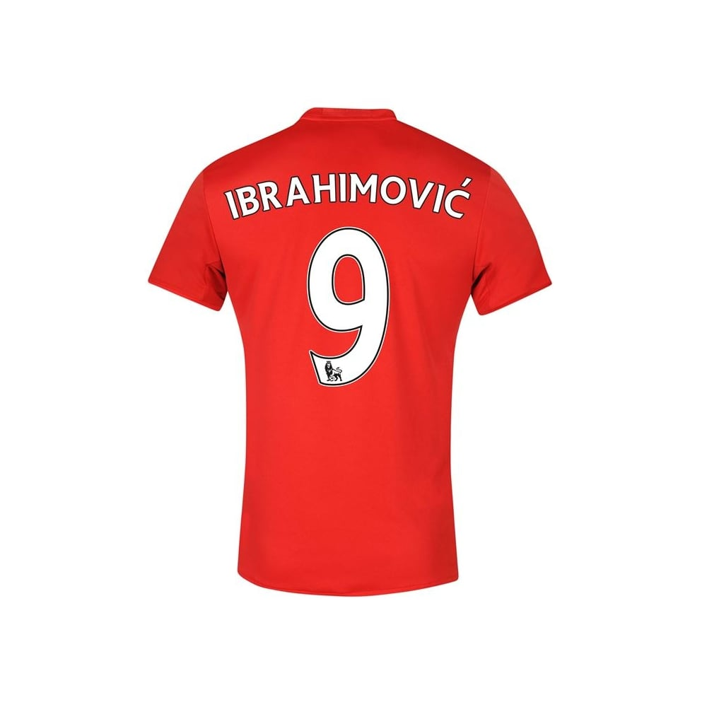 6a36e4e79 MANCHESTER UNITED FC HOME JNR IBRAHIMOVIC JERSEY