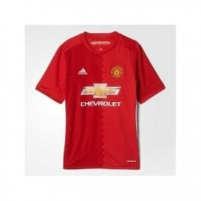 MANCHESTER UNITED FC HOME JNR JERSEY