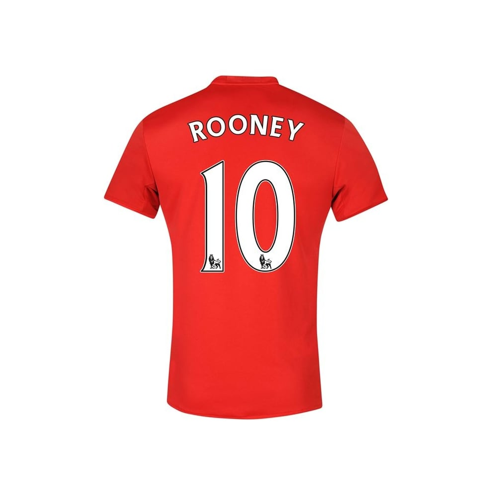 new product 11d1c f278a Adidas MANCHESTER UNITED FC HOME JNR ROONEY JERSEY