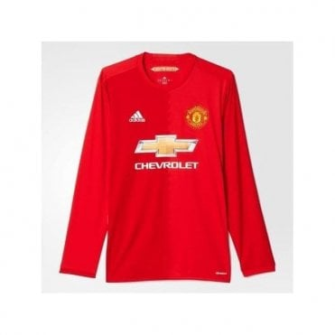 MANCHESTER UNITED FC LS HOME JERSEY