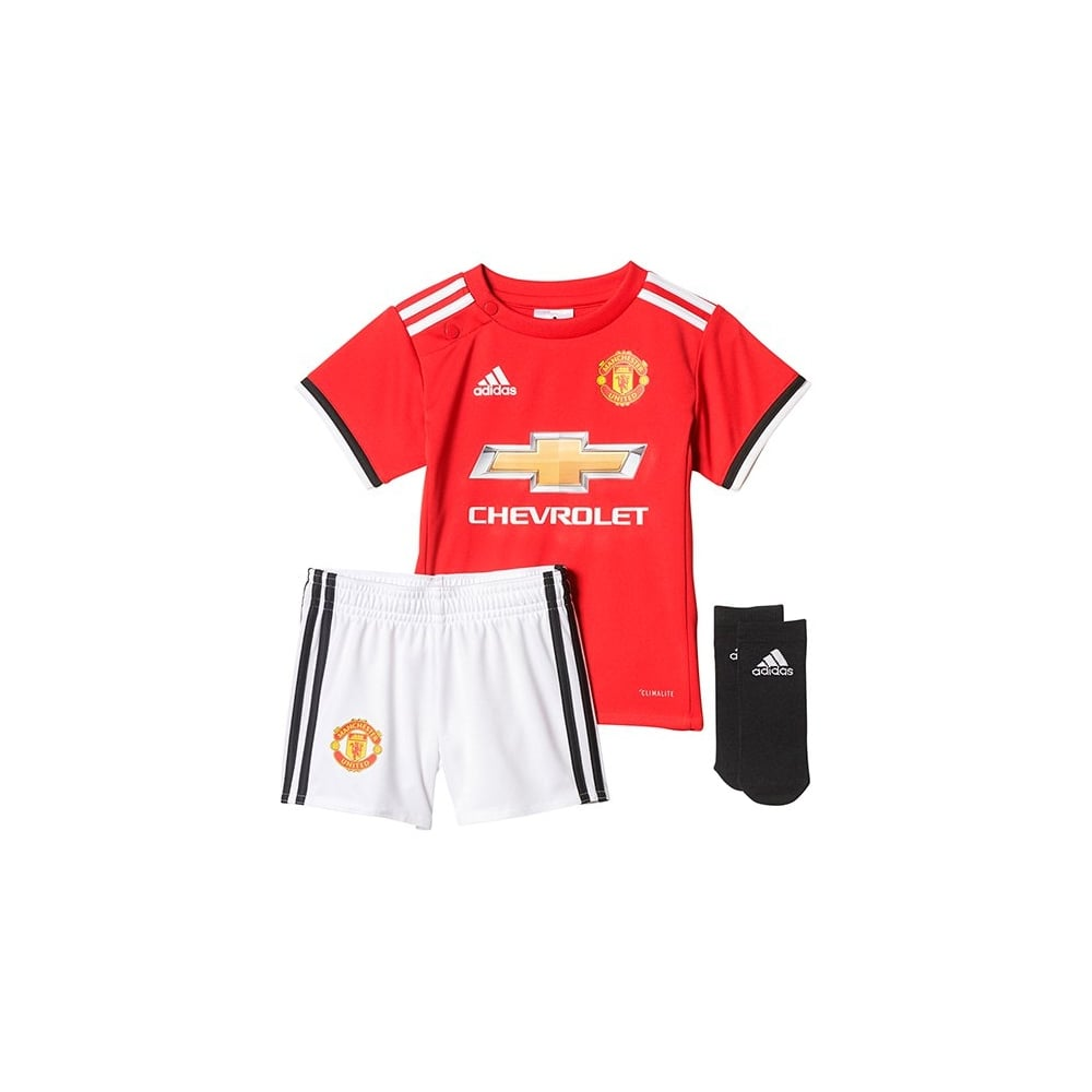 outlet store 9ebe7 2c1cd Adidas Manchester United Home BABY KIT 17/18