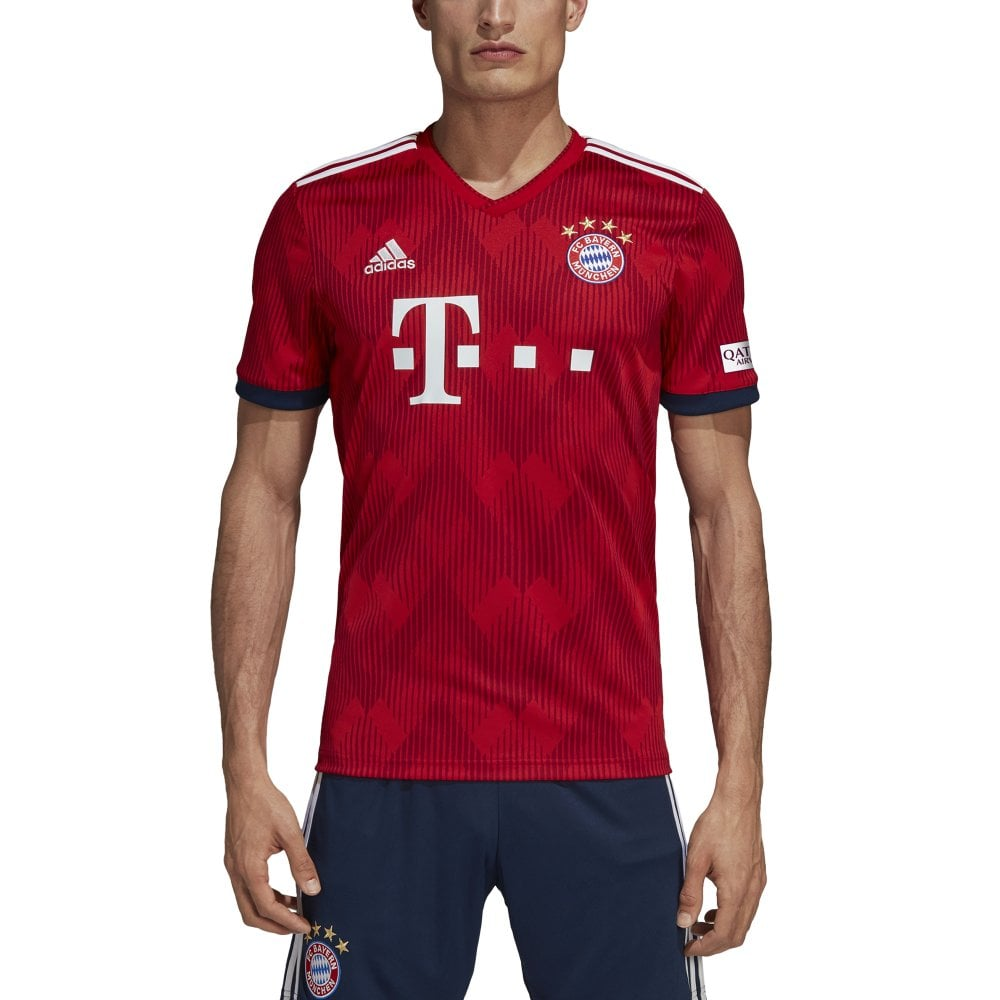 uk availability 0a720 c768f Men's Bayern Munich Home Jersey 18/19