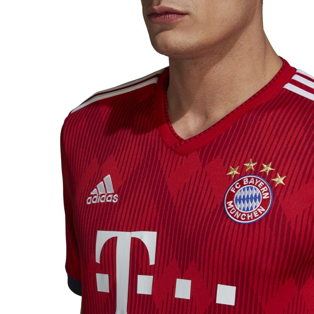 uk availability 873f0 56dab Men's Bayern Munich Home Jersey 18/19
