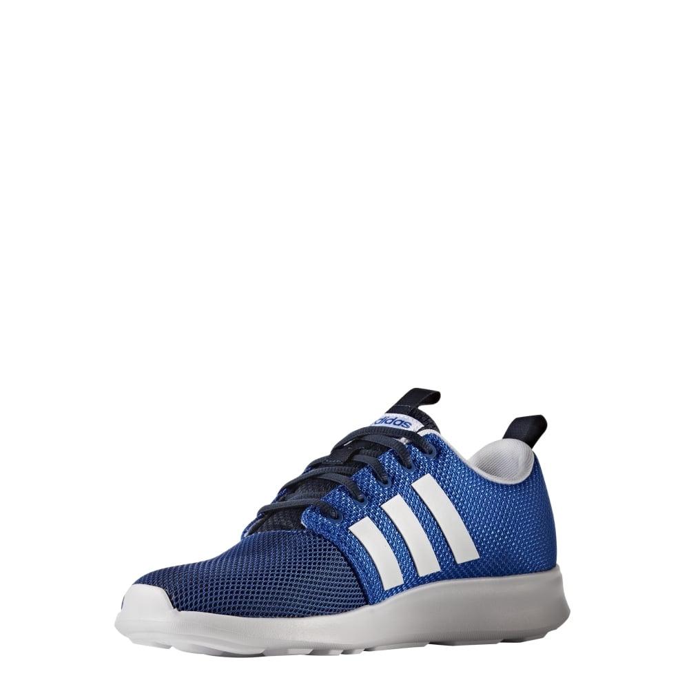 adidas cloudfoam swift racer shoes men's blue