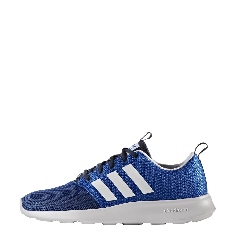 adidas cloudfoam swift racer shoes men's blue