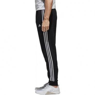 Men's Essentials 3 Stripes Tapered Fleece Pants
