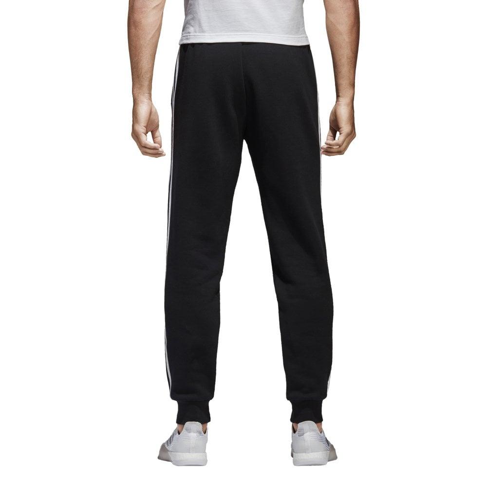 Men's Essentials 3 Stripes Tapered Fleece Pants