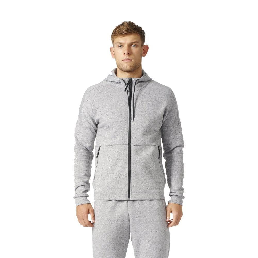 adidas zip up hoodie mens