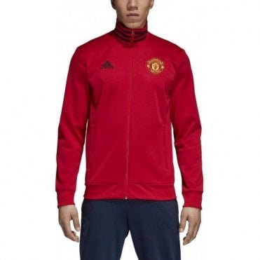 Men's Man United 3 Stripe Track Top