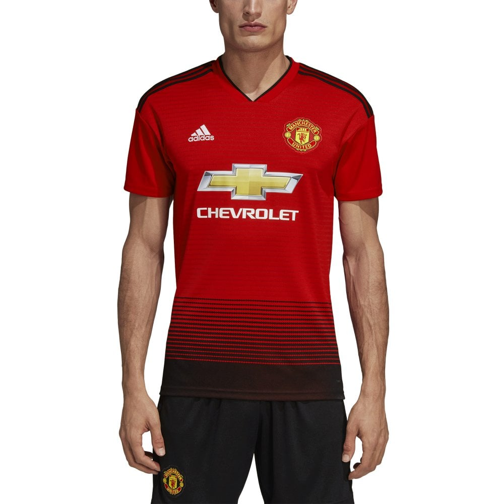 cheap for discount c70d1 34d23 Men's Man United Home SS Jersey 18/19