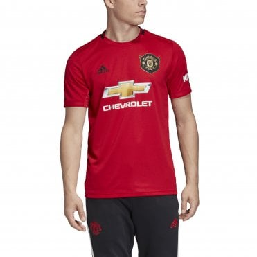416ac07ca19 Men s Man United Home SS Jersey 19 20