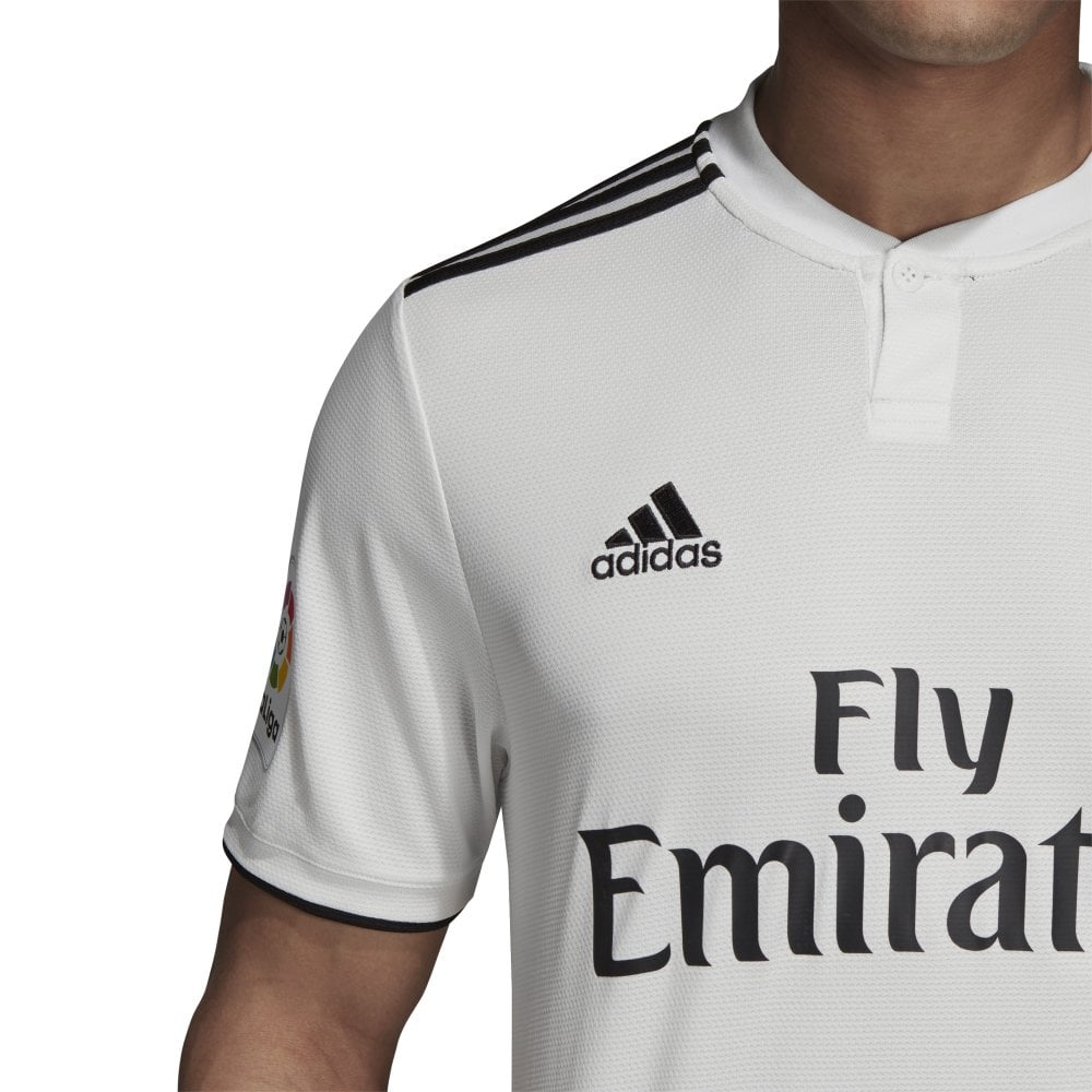 best authentic d5e41 6f19c Men's Real Madrid Home Jersey 18/19
