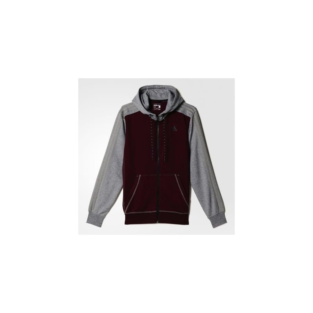 adidas essentials fleece hoodie