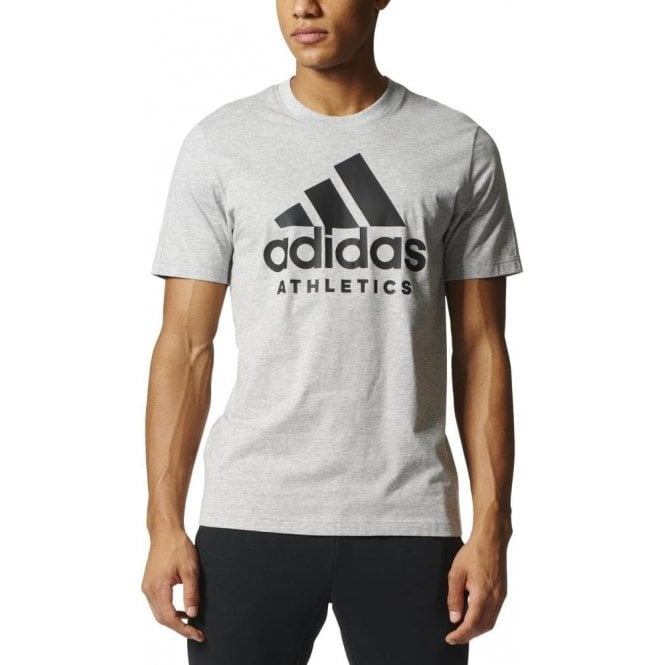 Adidas Men's Sport ID Tee Grey