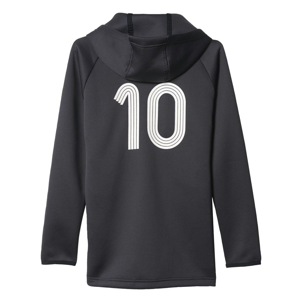 adidas hoodie Black