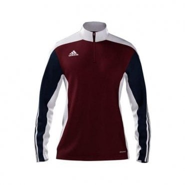 MI TEAM 14 TRAINING TOP MAROON/NAVY/WHITE