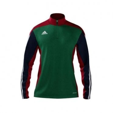 MI TEAM 14 WOMEN TRAINING TOP GREEN/NAVY/RED