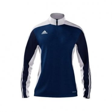 MI TEAM 14 WOMENS TRAINING TOP BLUE/NAVY/WHITE
