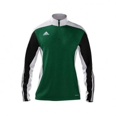 MI TEAM 14 WOMENS TRAINING TOP GREEN/BLACK/WHITE