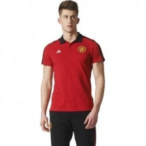 MUFC 3-STRIPE POLO