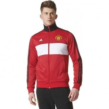 MUFC 3 Stripe Track Top