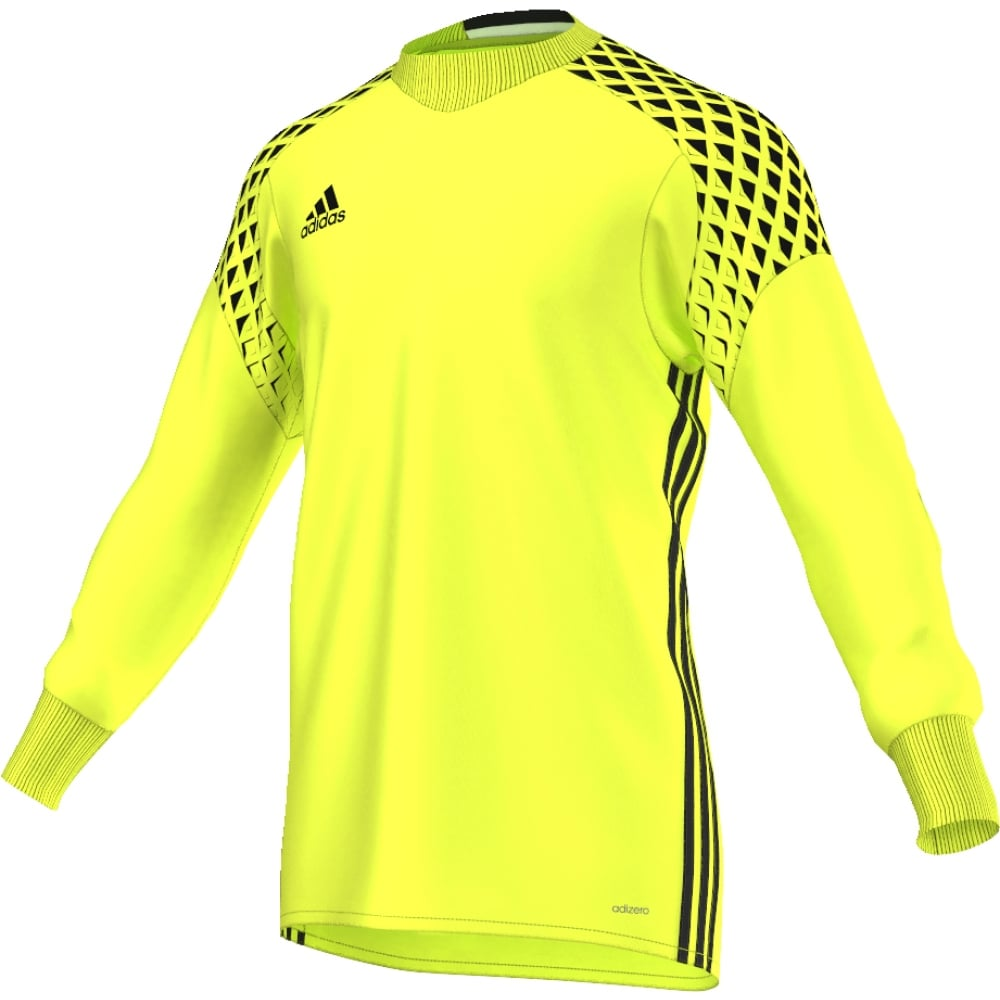 46af05696 ONORE 16 GK JERSEY SOLAR YELLOW BLACK