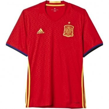 SPAIN EURO 16 HOME JERSEY