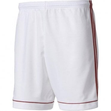 SQUAD 17 SHORTS WHITE/POWER RED