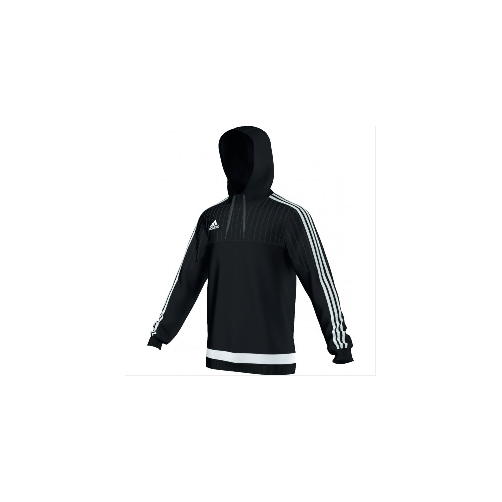 2b6bce26b adidas Tiro 15 Hoodie Top Black/White