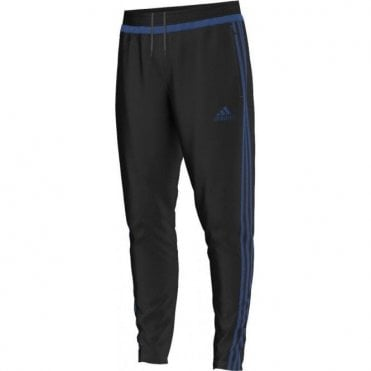 TIRO 15 TRAINING PANT BLACK/EQT BLUE S16