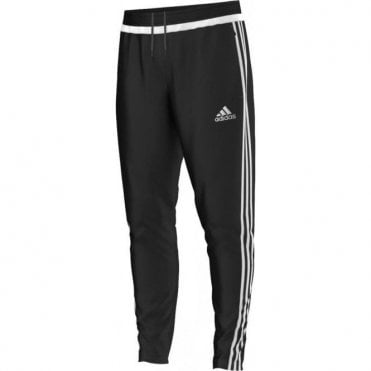 TIRO 15 TRAINING PANT BLACK/WHITE/BLACK
