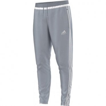 TIRO 15 TRAINING PANT LIGHT GREY/WHITE/LIGHT GREY