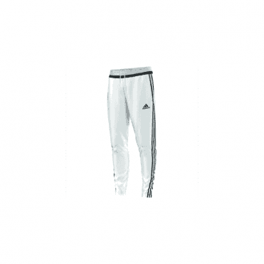 TIRO 15 TRAINING PANT WHITE/BLACK/WHITE