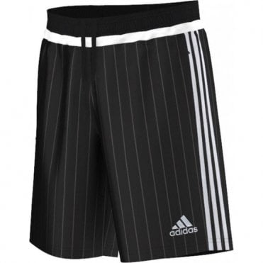 TIRO 15 WOVEN SHORTS BLACK/WHITE/BLACK