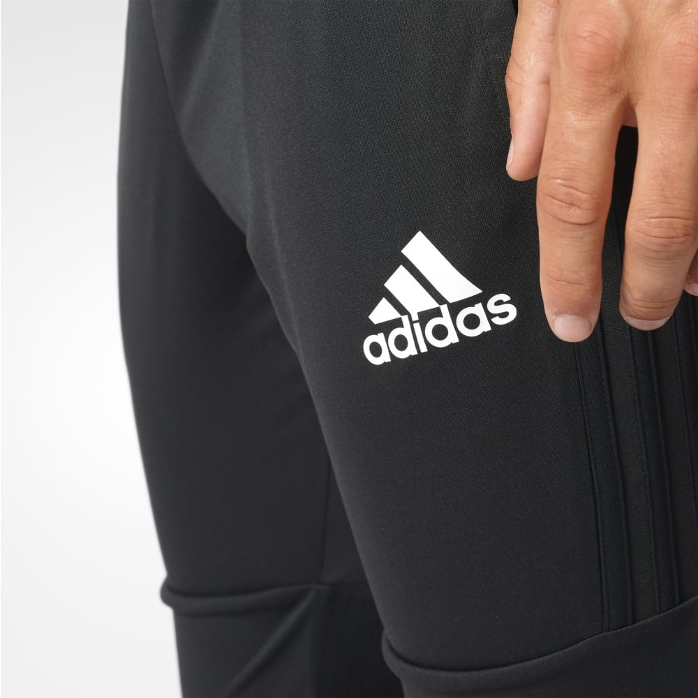 51d83ea97854 ADIDAS TIRO 17 3/4 PANTS BLACK/WHITE