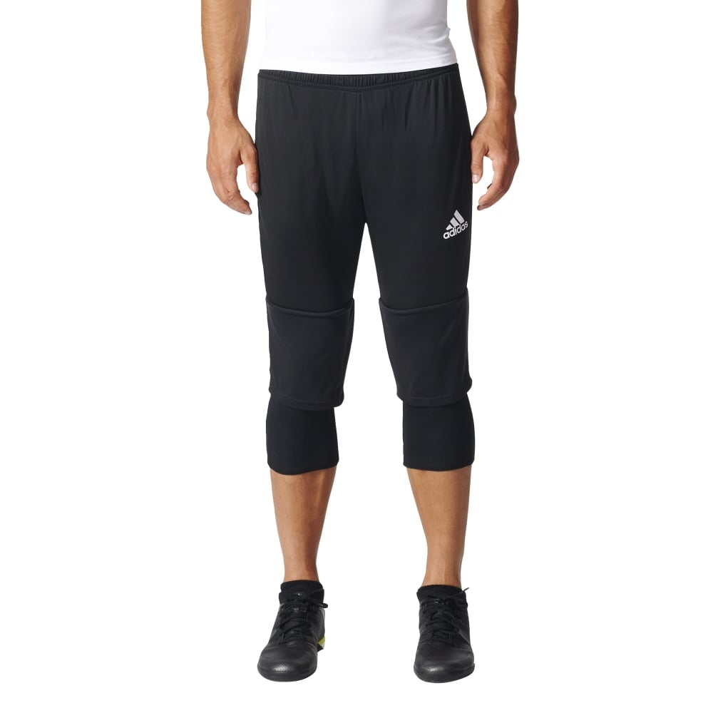 adidas tiro 17 3 4 pants black white. Black Bedroom Furniture Sets. Home Design Ideas