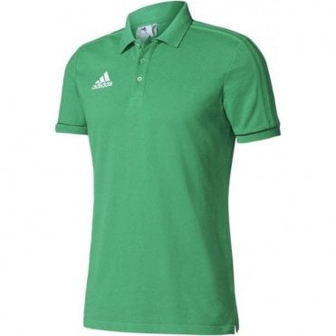TIRO 17 CO POLO GREEN/BLACK/WHITE