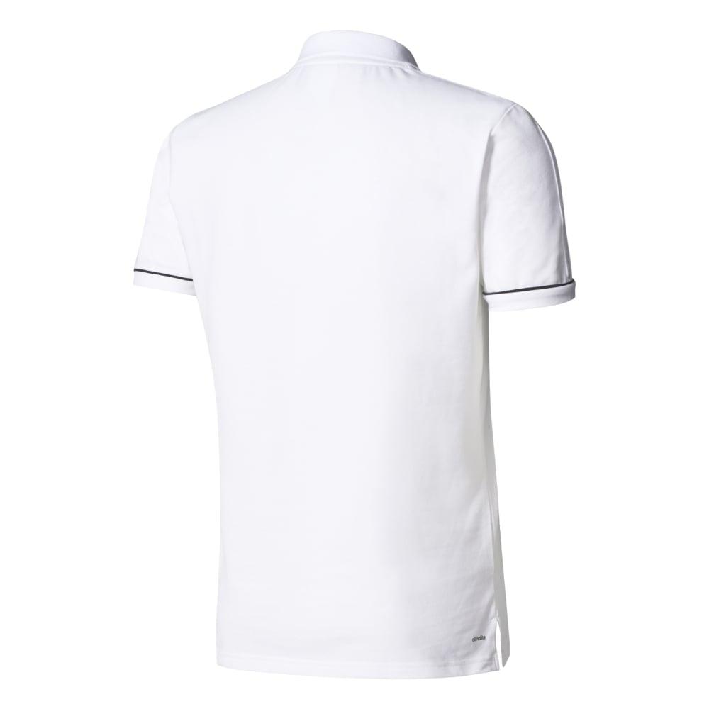 Adidas TIRO 17 CO POLO WHITEBLACK