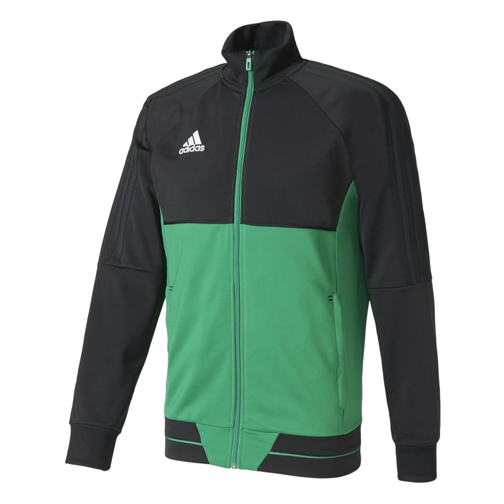adidas tiro 17 pes jacket black green white. Black Bedroom Furniture Sets. Home Design Ideas
