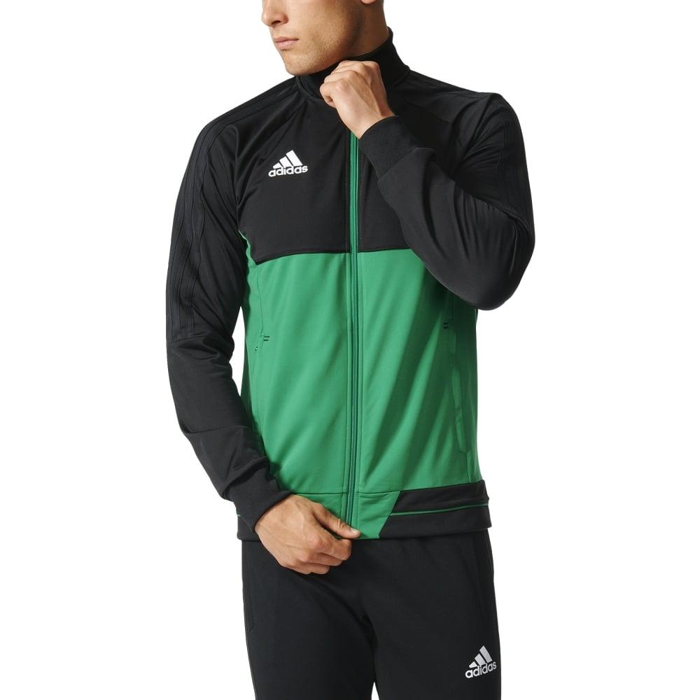 Adidas Tiro 17 Pes Jacket Black Green White