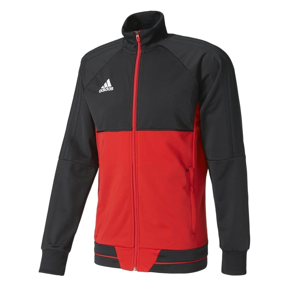 Adidas TIRO 17 PES JACKET BLACKSCARLETWHITE