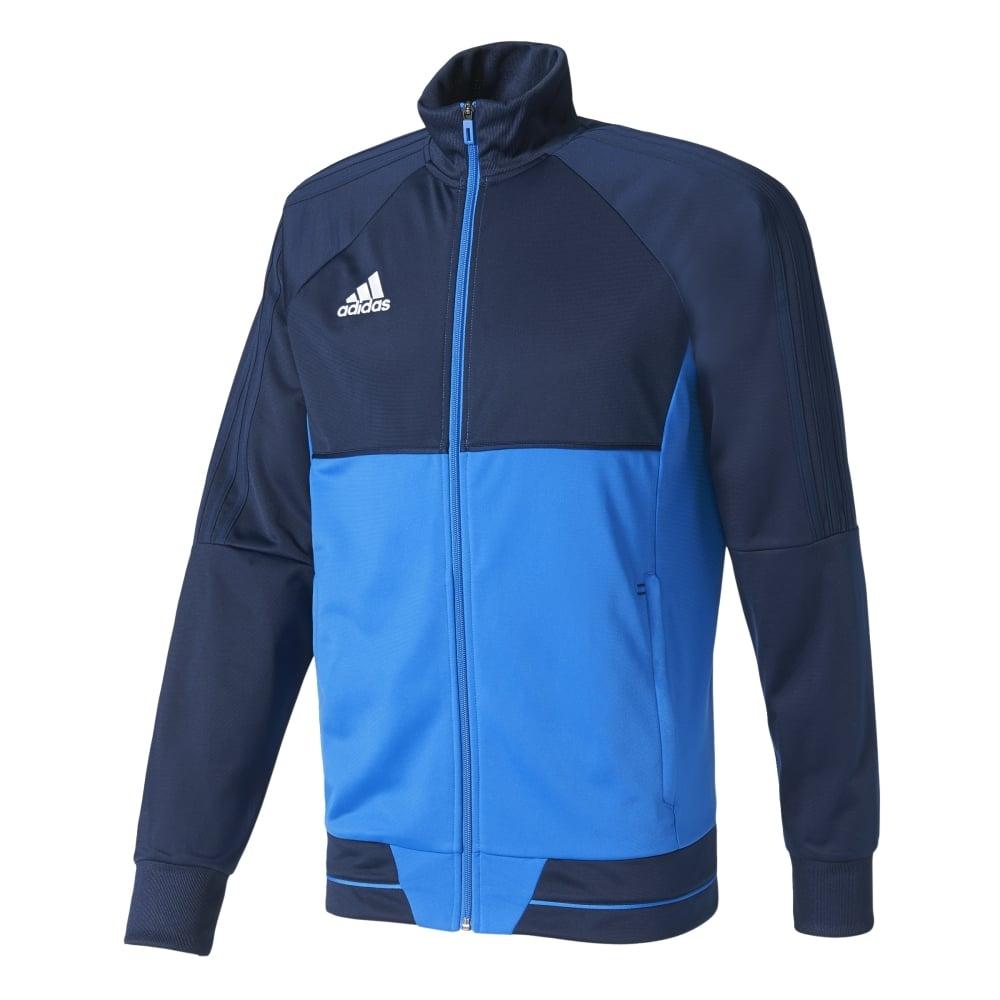 Adidas TIRO 17 PES JACKET COLLEGIATE NAVYBLUEWHITE