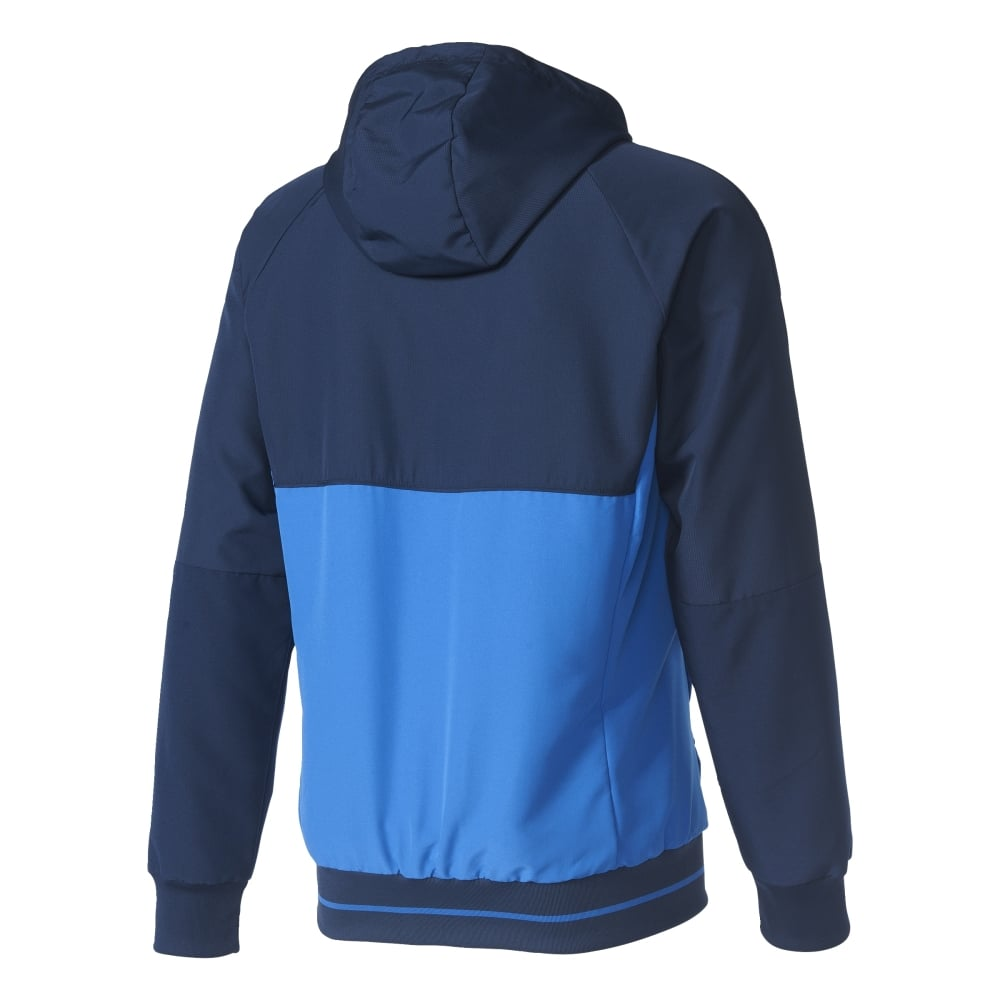 Adidas Tiro 17 Pre Jacket Collegiate Navy Blue White