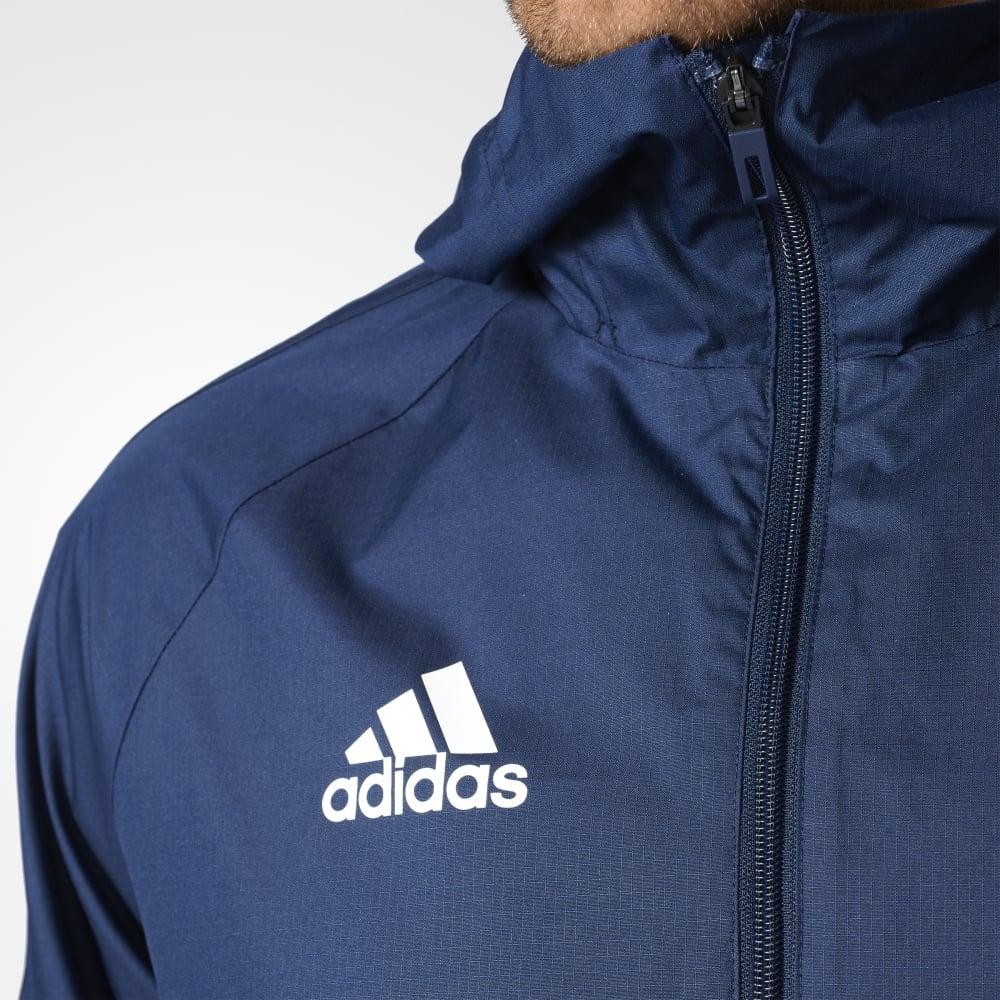 0c10a97ef Adidas TIRO 17 RAIN JACKET COLLEGIATE NAVY/WHITE