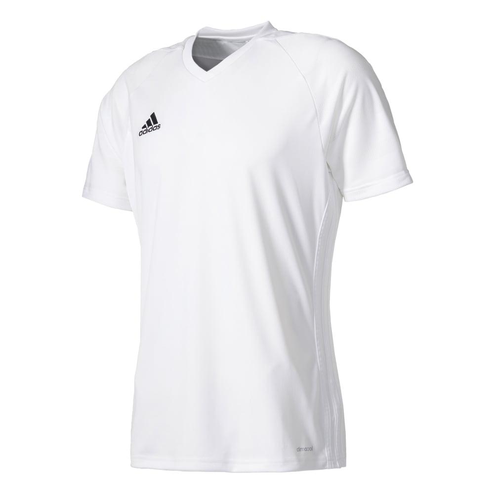 Adidas TIRO 17 SS JERSEY WHITEWHITE